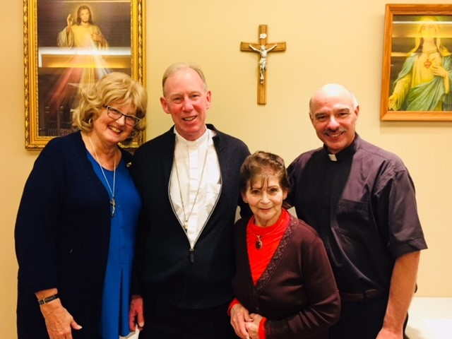 Installation of Father Mike